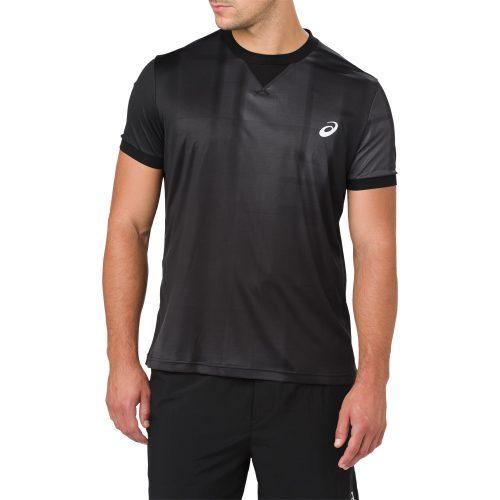 ASICS Short Sleeve GPX Top: ASICS Men's Tennis Apparel Spring 2018