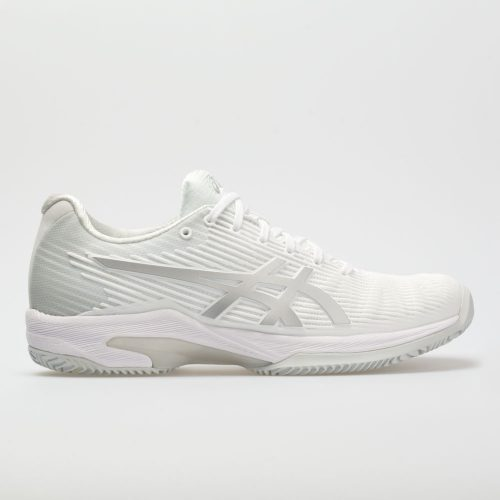 ASICS Solution Speed FF Clay: ASICS Women's Tennis Shoes White/Silver