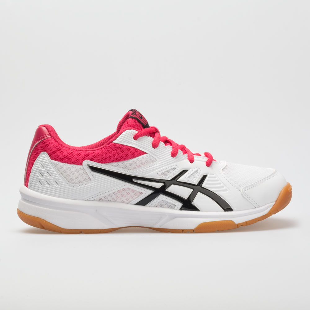 ASICS Upcourt 3: ASICS Women's Indoor, Squash, Racquetball Shoes White/Pixel Pink