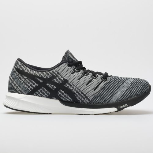 ASICS fuzeX Knit: ASICS Women's Running Shoes Carbon/Black/White