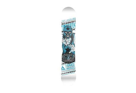 Academy Snowboards Team Snowboard 149cm
