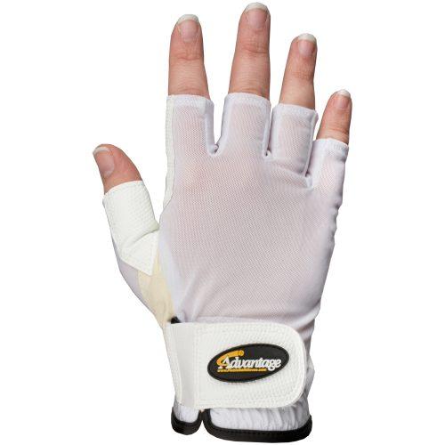 Advantage Pickleball Glove Half Finger Right Unisex: Advantage Pickleball Gloves