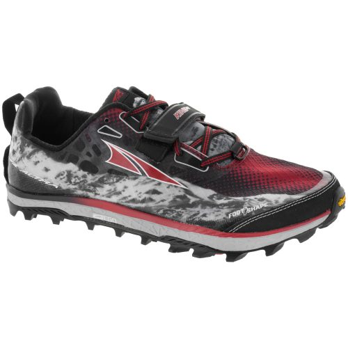 Altra King MT: Altra Men's Running Shoes Black/Red