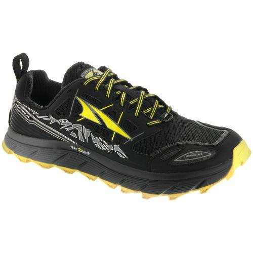 Altra Lone Peak 3.0: Altra Men's Running Shoes Black/Yellow