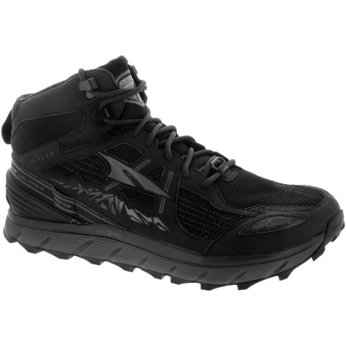 Altra Lone Peak 3.5 Mid: Altra Men's Hiking Shoes Black