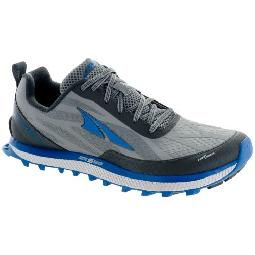Altra Superior 3.0: Altra Men's Running Shoes Gray/Blue