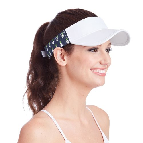 Ame & Lulu Head in the Game Visor: Ame & Lulu Caps & Visors