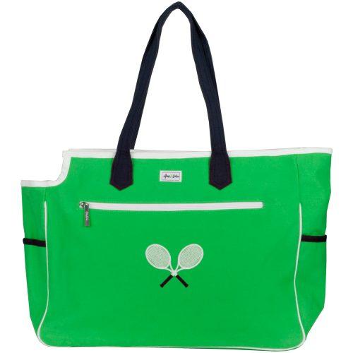 Ame & Lulu Kensington Crossed Racquet Court Bag: Ame & Lulu Tennis Bags