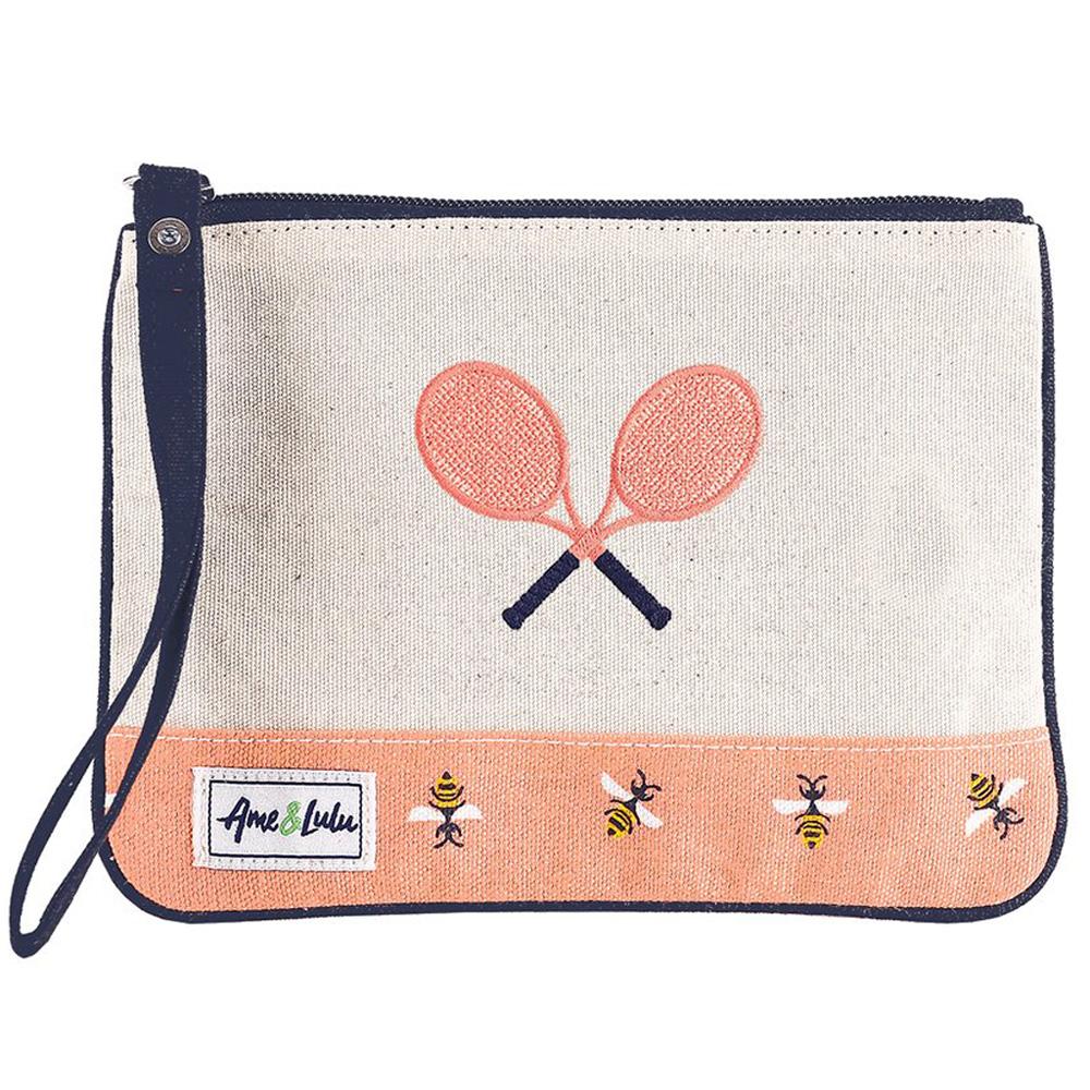 Ame & Lulu Tennis Lover Wristlet: Ame & Lulu Tennis Gifts & Novelties