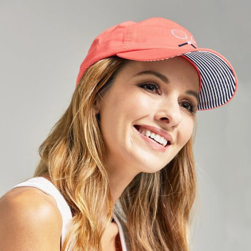 Ame & Lulu Tennis Lovers Hat: Ame & Lulu Caps & Visors