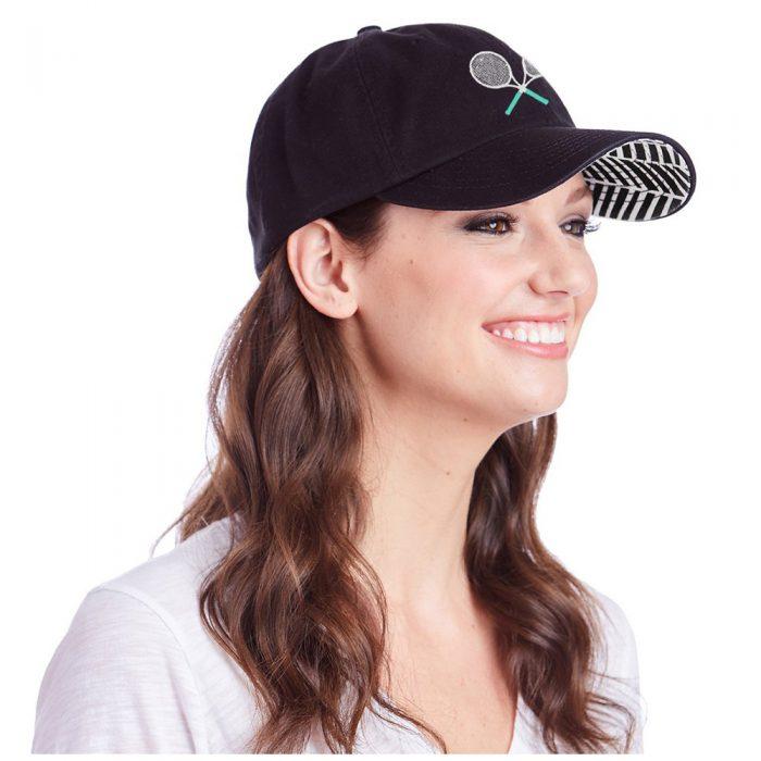 Ame & Lulu Tennis Lovers Hat: Ame & Lulu Caps & Visors