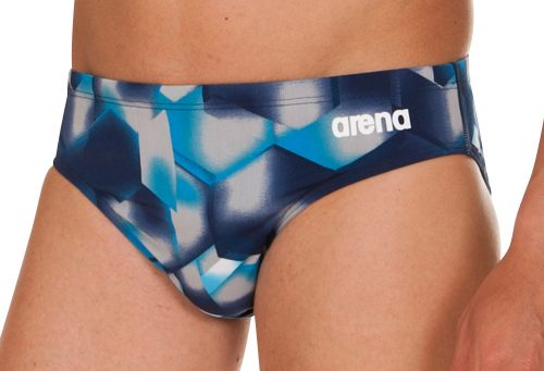 Arena Lava Brief - Men's - navy/royal, 32
