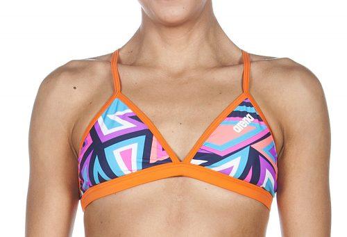 Arena Tulum Tie Back Top - Women's - navy/mango, 32