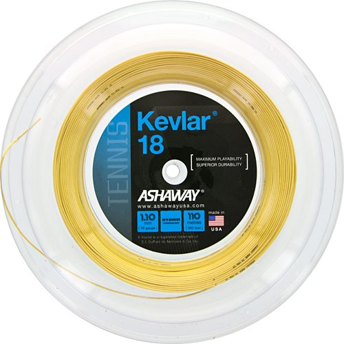 Ashaway Kevlar 18 360' Reel: Ashaway Tennis String Reels