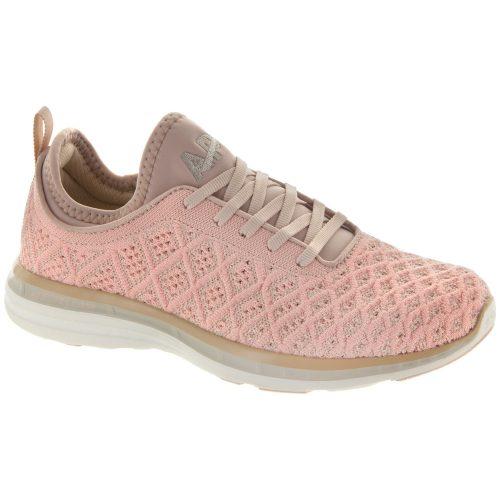 Athletic Propulsion Labs TechLoom Phantom: Athletic Propulsion Labs Women's Running Shoes Blush/Cream