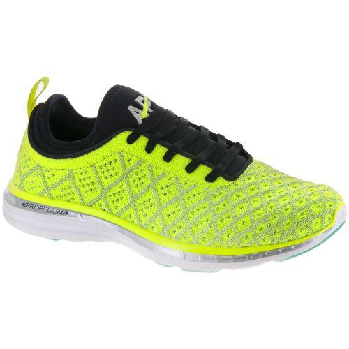Athletic Propulsion Labs TechLoom Phantom: Athletic Propulsion Labs Women's Running Shoes Energy/Black/Silver