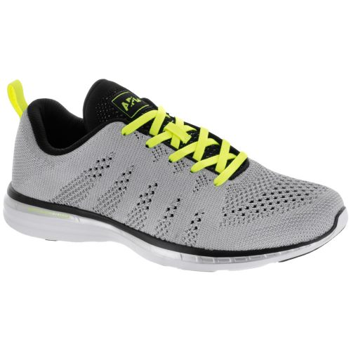 Athletic Propulsion Labs TechLoom Pro: Athletic Propulsion Labs Men's Running Shoes Metallic Silver/Energy