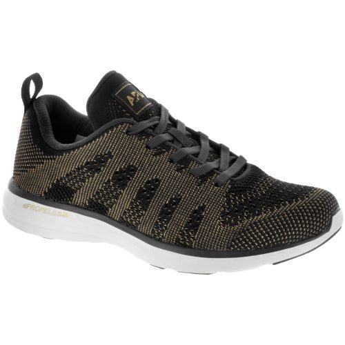 Athletic Propulsion Labs TechLoom Pro: Athletic Propulsion Labs Women's Running Shoes Black/Metallic Gold