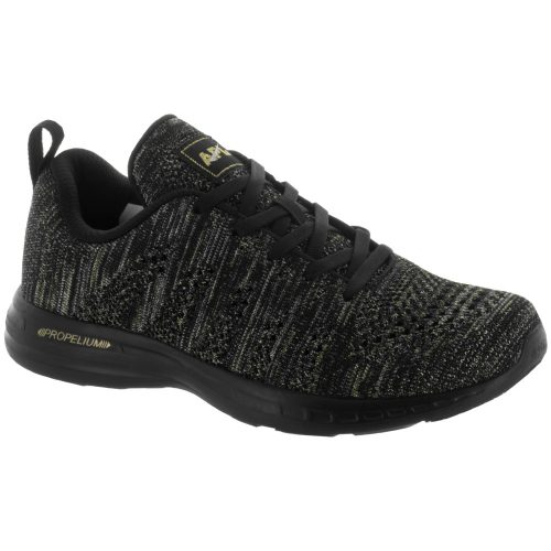 Athletic Propulsion Labs TechLoom Pro: Athletic Propulsion Labs Women's Running Shoes Black/Silver/Gold/Black