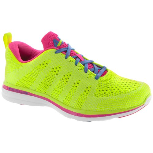 Athletic Propulsion Labs TechLoom Pro: Athletic Propulsion Labs Women's Running Shoes Glow-In-The-Dark Energy