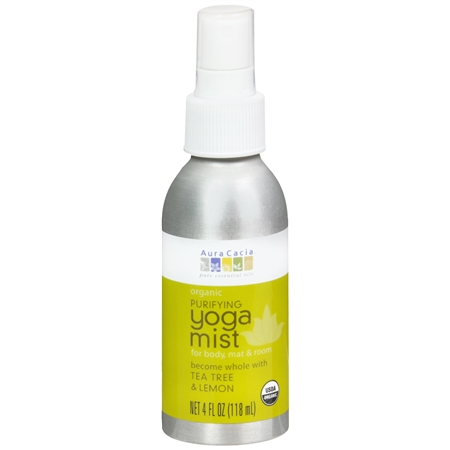 Aura Cacia Yoga Mist Tea Tree & Lemon - 4 fl oz