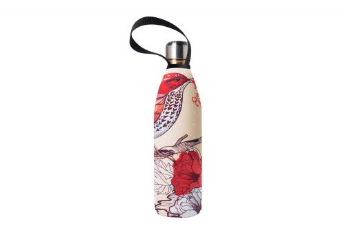 BBBYO Future Bottle+ Carry Cover - 750 ml - bird print/gold, 750ml