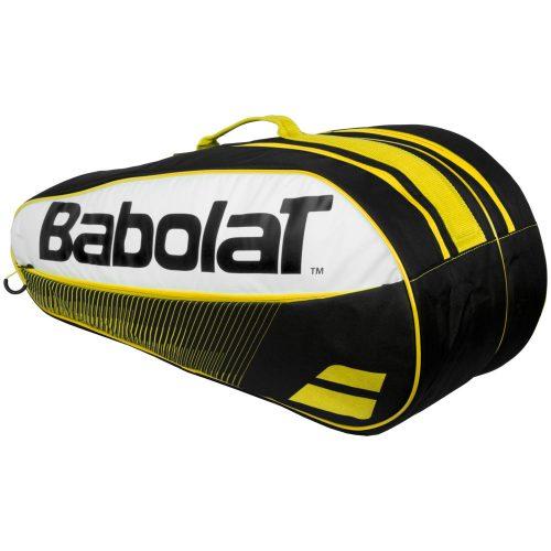 Babolat Club Classic 6 Racquet Bag Yellow: Babolat Tennis Bags