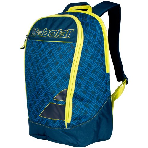 Babolat Club Classic Backpack Blue/Yellow: Babolat Tennis Bags