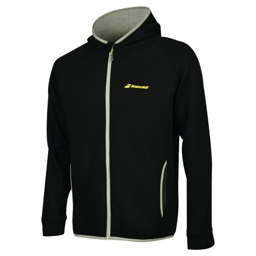 Babolat Core Hood Sweatshirt: Babolat Men's Tennis Apparel