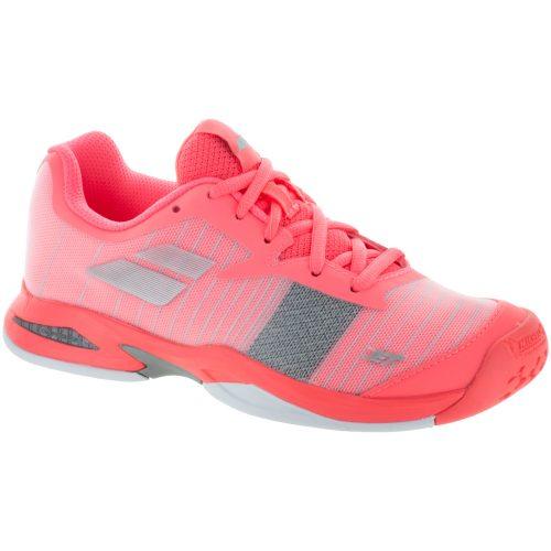 Babolat Jet Junior Fandango/Fluo Pink: Babolat Junior Tennis Shoes