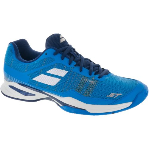 Babolat Jet Mach I: Babolat Men's Tennis Shoes Diva Blue/White/Estate Blue