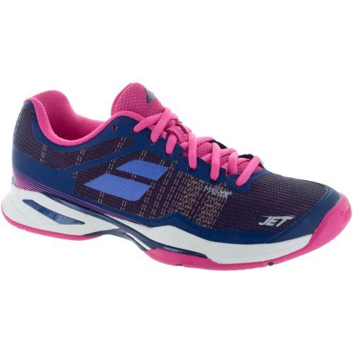 Babolat Jet Mach I: Babolat Women's Tennis Shoes Estate Blue/Fandango Pink