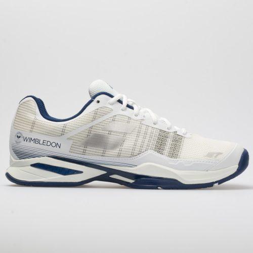 Babolat Jet Mach I Wimbledon White/White: Babolat Tennis Shoes