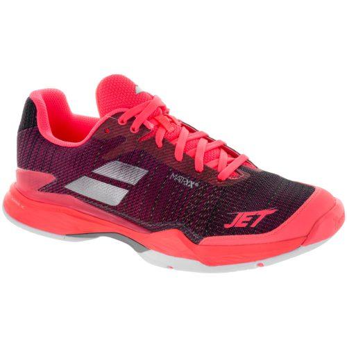 Babolat Jet Mach II: Babolat Women's Tennis Shoes Fluo Pink/Silver/Fandango Pink