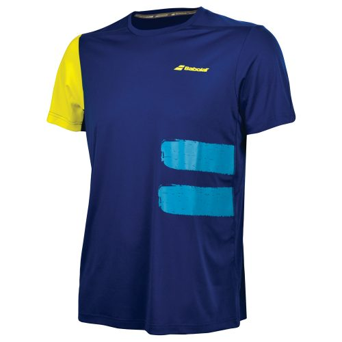 Babolat Performance Crew Neck Tee: Babolat Men's Tennis Apparel