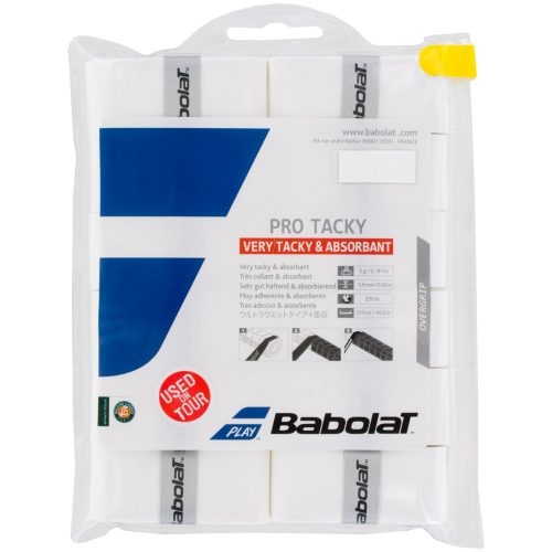 Babolat Pro Tacky Overgrip 12 Pack: Babolat Tennis Overgrips