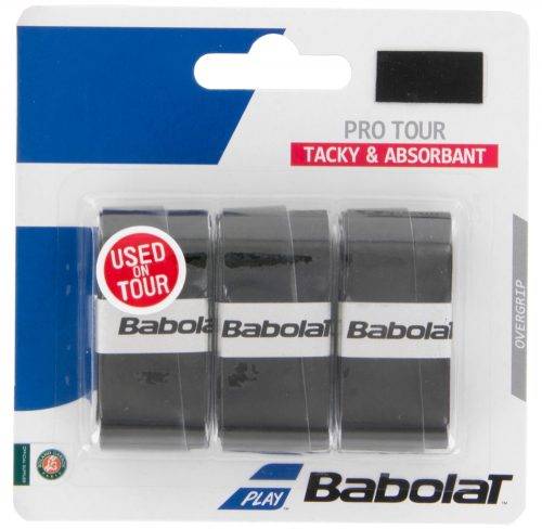 Babolat Pro Tour Overgrip 3 Pack: Babolat Tennis Overgrips