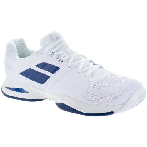 Babolat Propulse Blast: Babolat Men's Tennis Shoes White/Estate Blue