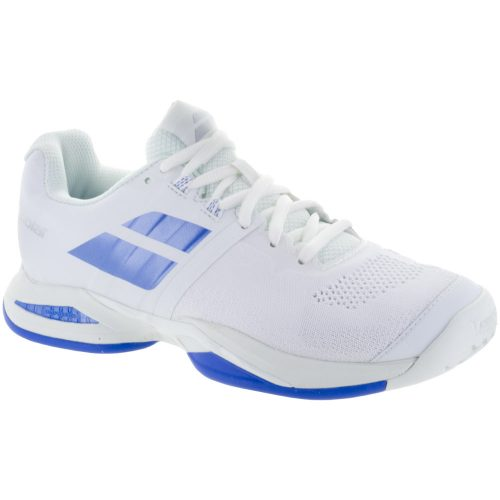Babolat Propulse Blast: Babolat Women's Tennis Shoes White/Wedgewood