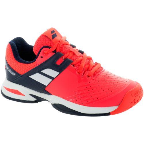 Babolat Propulse Junior Fluro Red: Babolat Junior Tennis Shoes