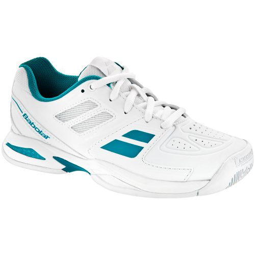 Babolat Propulse Team Junior White/Blue: Babolat Junior Tennis Shoes
