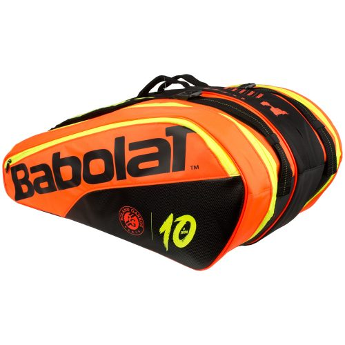 Babolat Pure 12 Racquet Bag Decima French Open: Babolat Tennis Bags