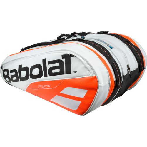 Babolat Pure 12 Racquet Bag White/Red: Babolat Tennis Bags