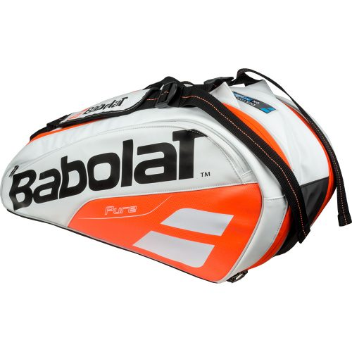 Babolat Pure 6 Racquet Bag White/Red: Babolat Tennis Bags