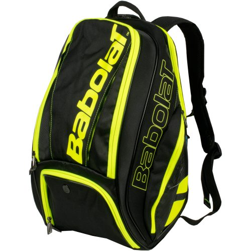 Babolat Pure Backpack Black/Yellow: Babolat Tennis Bags