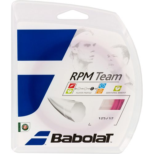 Babolat RPM Team 17 Pink: Babolat Tennis String Packages