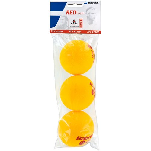 Babolat Red Foam 3 Pack: Babolat Tennis Balls