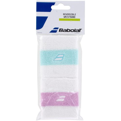 Babolat Reversible Wristband: Babolat Sweat Bands