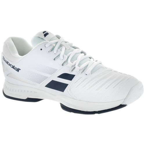 Babolat SFX: Babolat Men's Tennis Shoes White/Blue