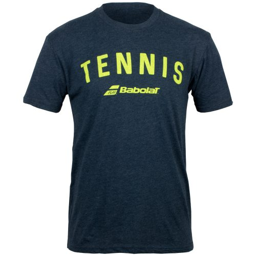 Babolat Tennis Logo Tee: Babolat Men's Tennis Apparel